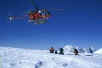 Heliskiing on the Monte Rosa