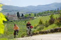 Tuscany with a bike